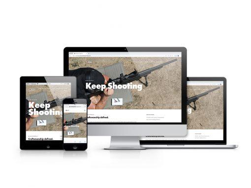 Bullseye Cartridge Co. – Website + Photo