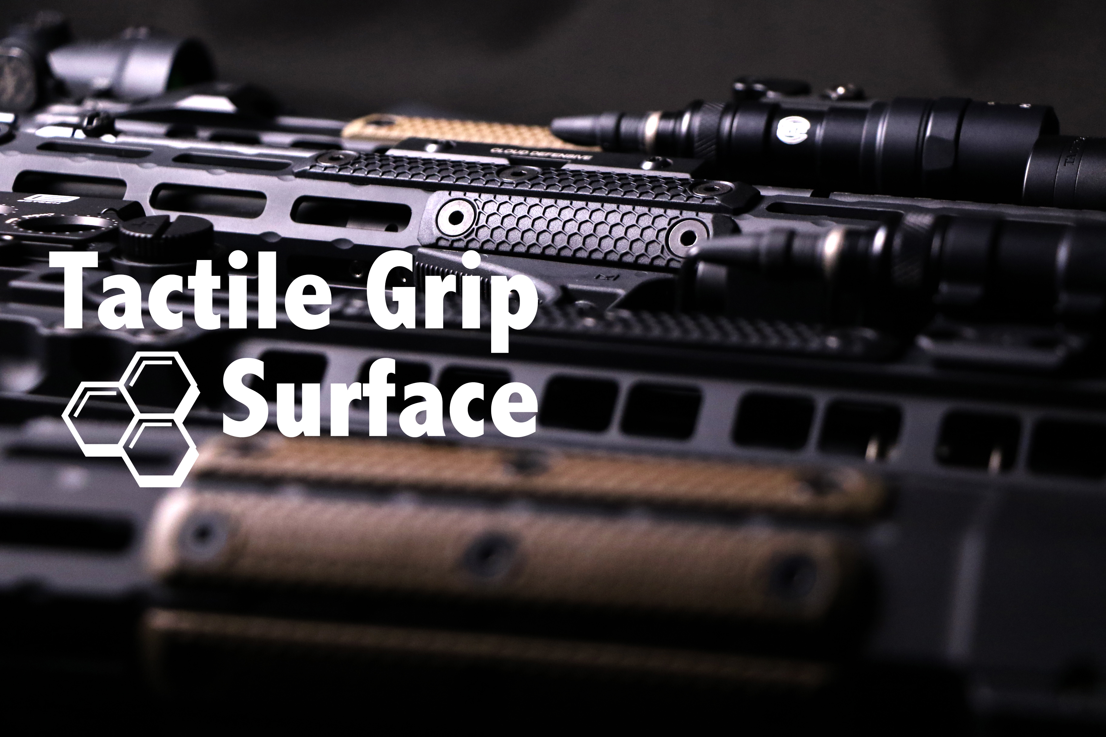 tactile grip srface